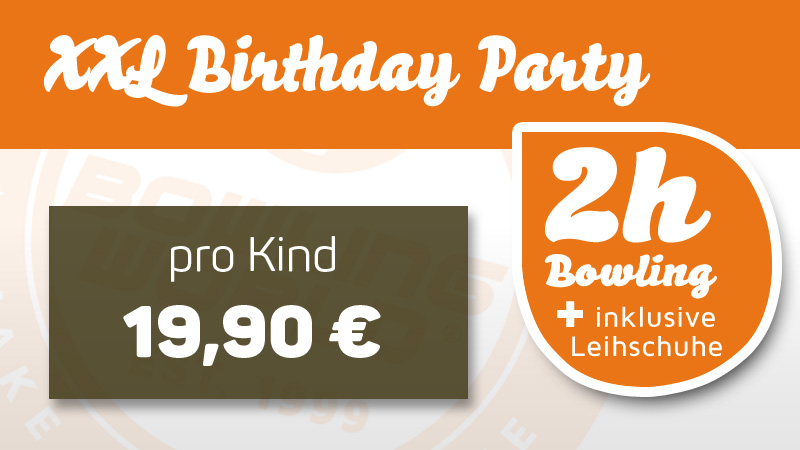 Kid´s Birthday Party - XXL